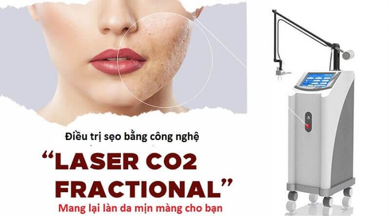 Công nghệ Laser Fractional CO2 có những tính năng ưu việt giúp xóa bỏ sẹo xấu hiệu quả